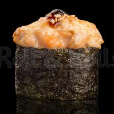 Запечённый гункан с лососем