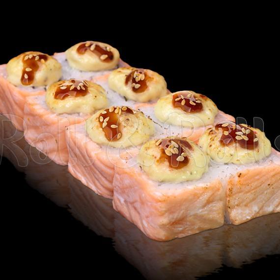 Роллы запечённая филадельфия Blue cheese 8 штук