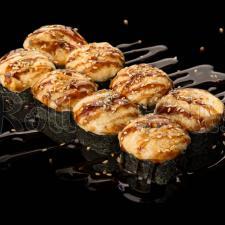 Запечённый спайси ролл с тигровой креветкой
